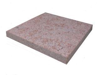ミカゲ平板 赤30×60×3cm バーナー仕上げ