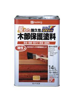 油性木部保護塗料 チーク 14L