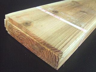 杉 野地板 (約)12×90×2000mm 【20枚入り】