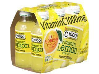ハウスウェルネスフーズ C1000 ビタミンレモン 140ml×6本入