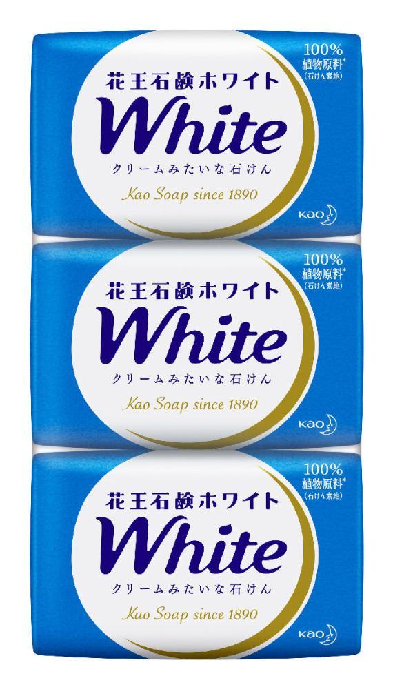 花王 石鹸 ホワイト 普通サイズ 3個入り