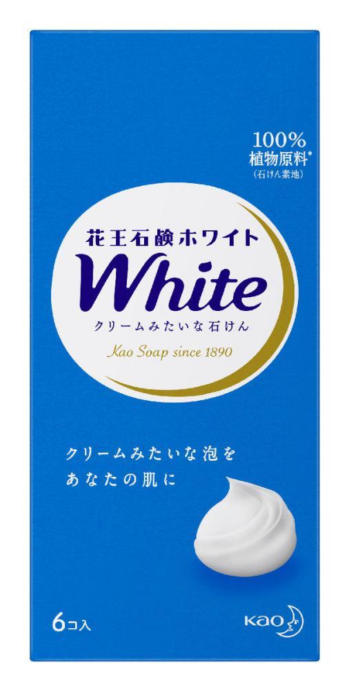 花王 石鹸 ホワイト 普通サイズ 6個 箱入り