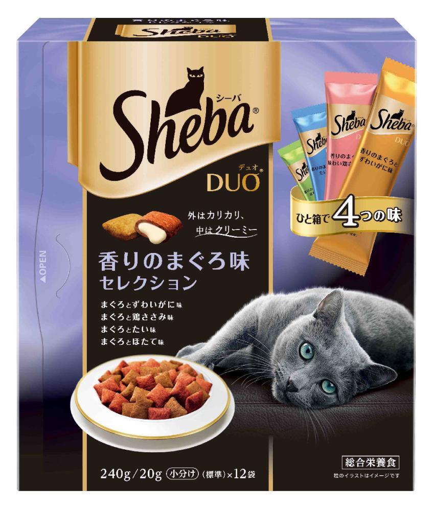 シーバDuo 香りのまぐろ味セレクション 240g (20g×12袋)