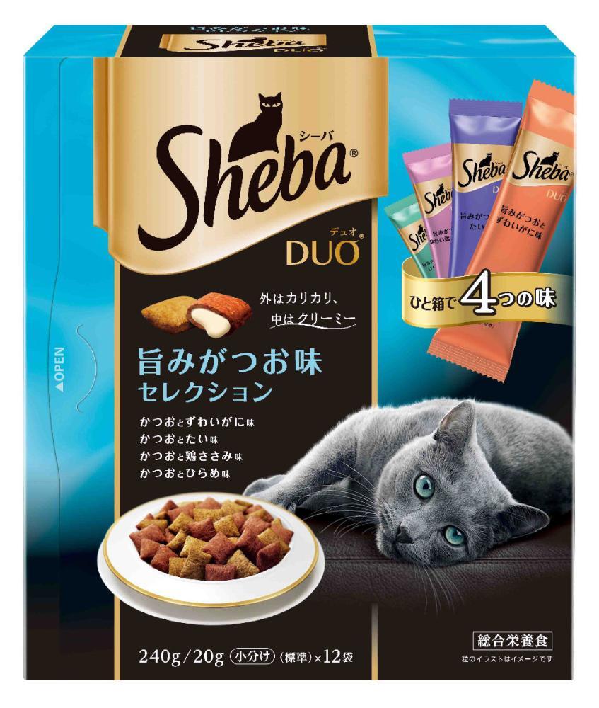 シーバDuo 旨みがつお味セレクション 240g (20g×12袋)