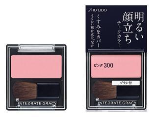 資生堂 インテグレート グレイシィ チークカラー レッド300
