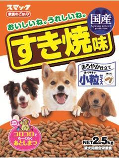 【クリックで詳細表示】家族のごはん すき焼(犬用) 2.5kg