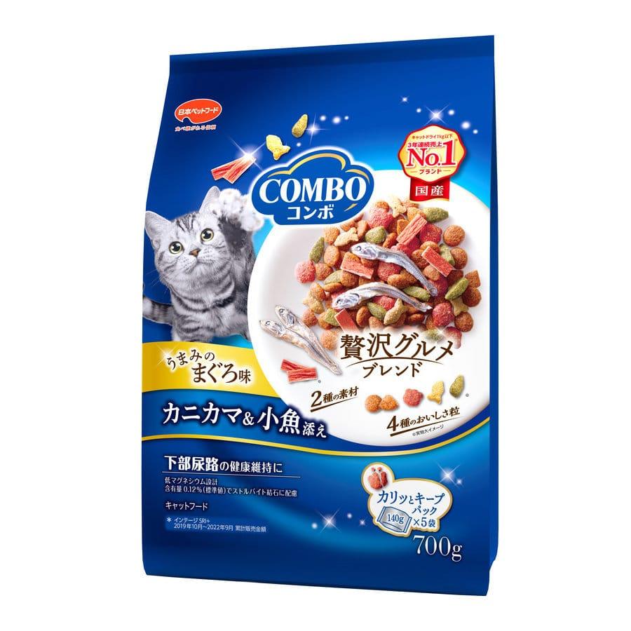 ミオコンボ まぐろ味 カニカマ・小魚添え 700g