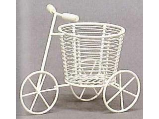 創元舎 三輪車 白 2.5号 520-038W