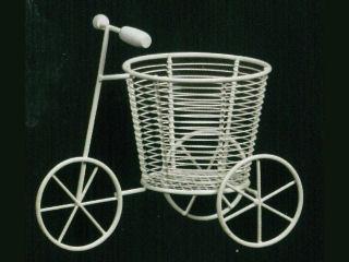 鉢カバー 三輪車 白 3号 520-008W