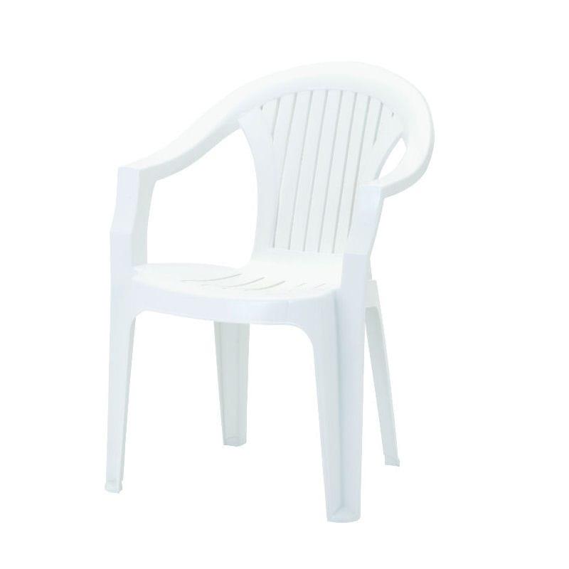 プラスチックチェアー ホワイト