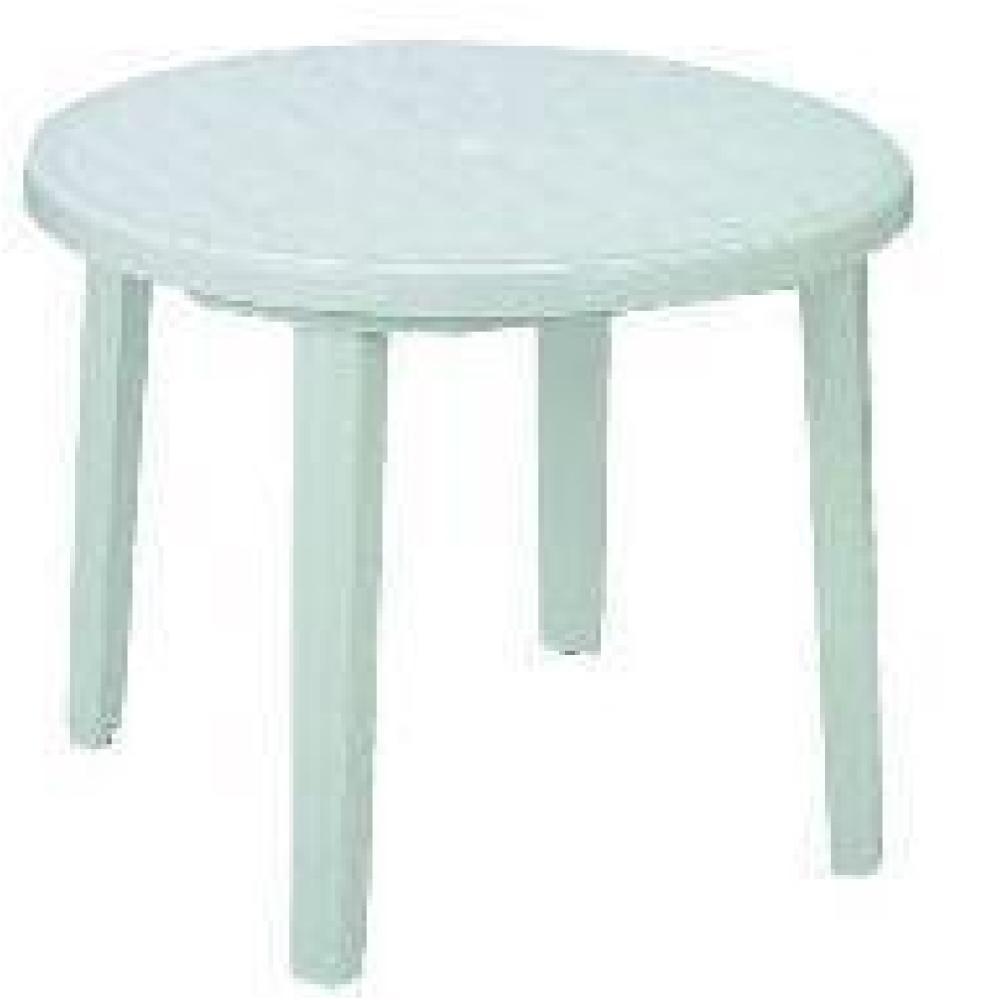 プラスチックテーブル 90cm ホワイト