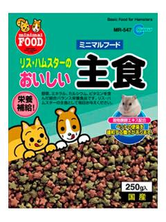 リス・ハムの主食(250g )