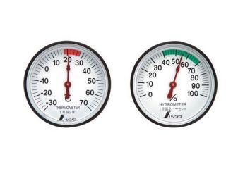 シンワ 温度計・湿度計セット ST-4
