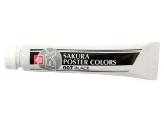 サクラクレパス ポスターカラー単色ブラック