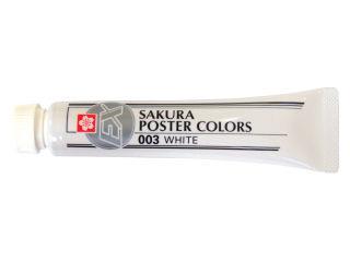 サクラクレパス ポスターカラー単色ホワイト