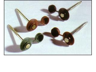オンデュリン クラシック用釘セット 75mm 100入り レッド