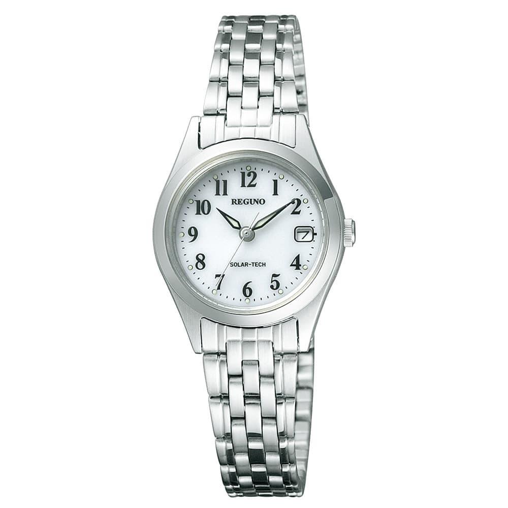 レグノ ソーラー腕時計 レディース 白 RS26-0051A
