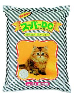 固まる猫砂 スーパーDC (デオドラントクリーン) 8L