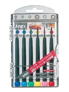 ANEX(アネックス) 精密ドライバーセット6PC No930