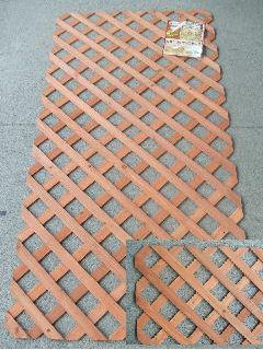 枠なしブラウンラティス 90×180cm