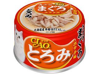 いなば CIAO(チャオ) とろみ ささみ・まぐろホタテ味 80g