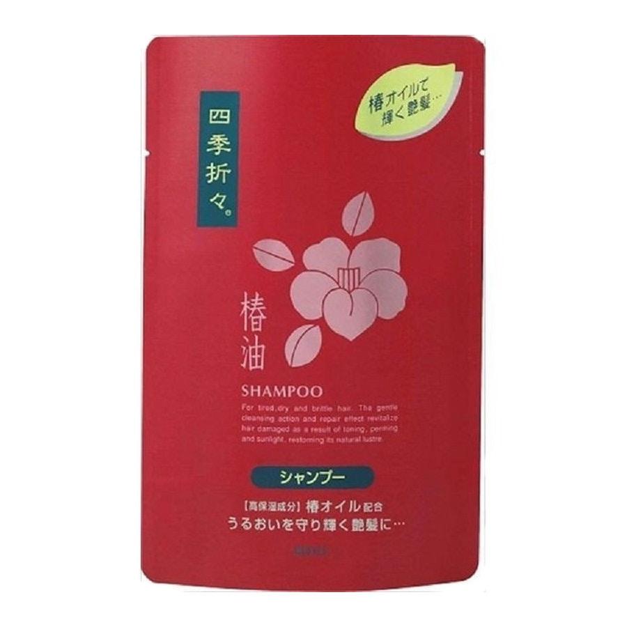 熊野油脂 四季折々 椿油 シャンプー 詰替用 450ml