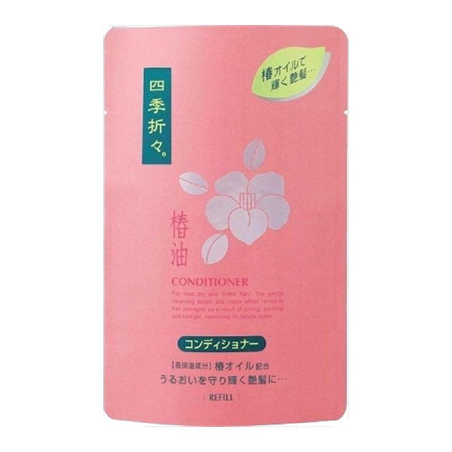 熊野油脂 四季折々 椿油 コンディショナー 詰替用 450ml
