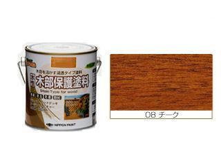 水性木部保護塗料 チーク各種