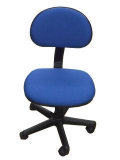 OAチェア 肘掛なし事務椅子 953NX ネイビー