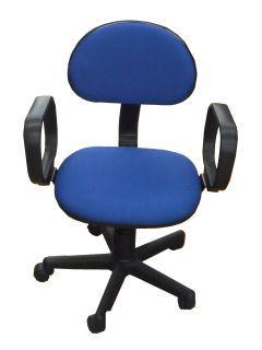 OAチェア 肘掛付事務椅子 953ANX ネイビー