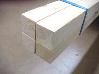 赤松垂木 KD (約)45×45×1985mm