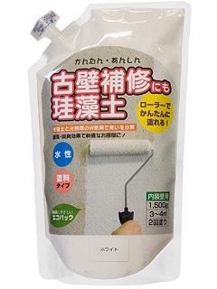 かんたん安心珪藻土 1.5kg ホワイト