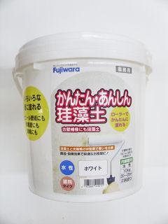 かんたん安心珪藻土 10kg ホワイト
