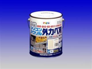 水性シリコンアクリル外カベ用 3kg ソフトグレー
