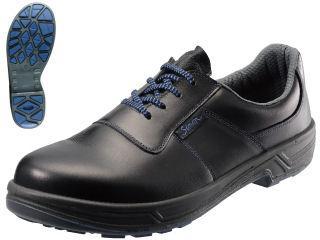 シモン JIS規格銀付牛革安全短靴 SX3層底 トリセオ8511 黒 各種