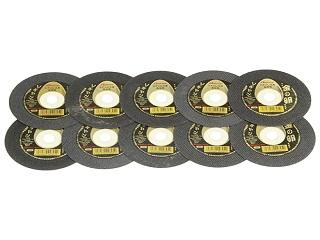 切断砥石 金の卵 10枚組 105×1.0×15