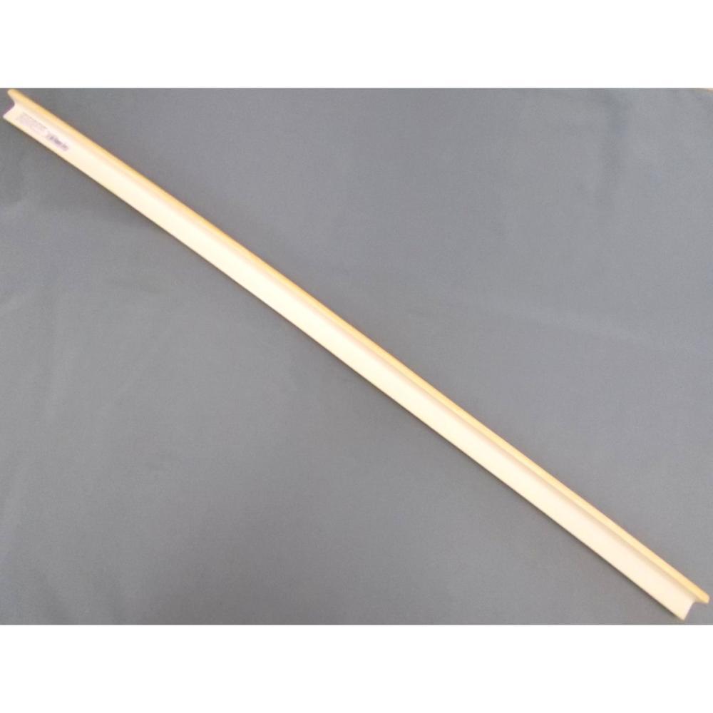 クッションL字型 小 90cm 木目ライト
