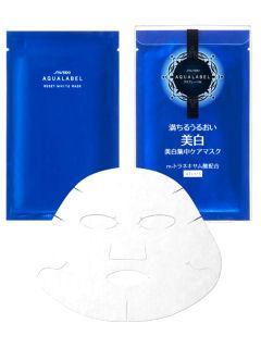 資生堂 アクアレーベル リセットホワイトマスク(4枚入)