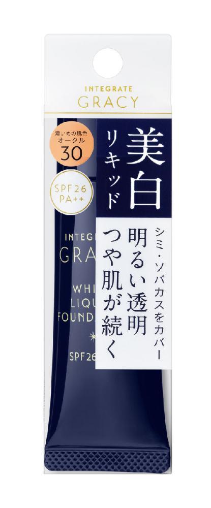資生堂 インテグレート グレイシィ ホワイトリキッドファンデーションN オークル30