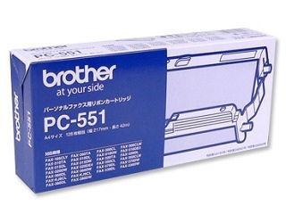 ブラザー FAX用 インクリボン PC-551