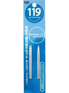 貝印 毛抜き・まゆ毛抜きセット KF-1015
