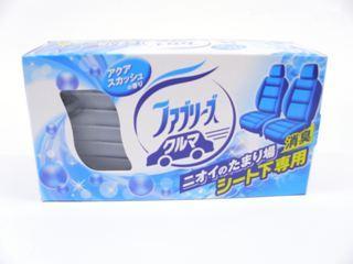 P&G クルマ用置き型ファブリーズ 芳香剤 アクアスカッシュの香り