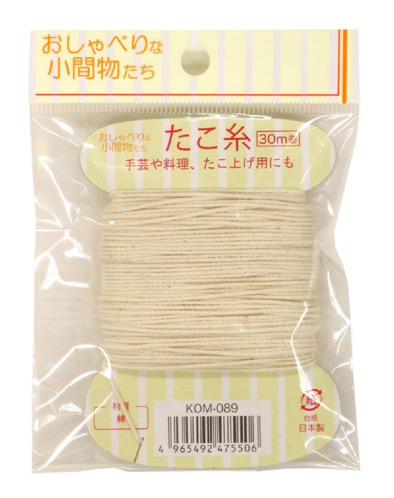 タコ糸30m巻 KOM-089