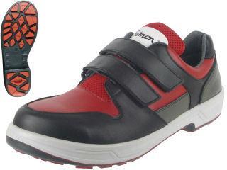 シモン 安全靴 SX3層底搭載 8518赤/黒 各種