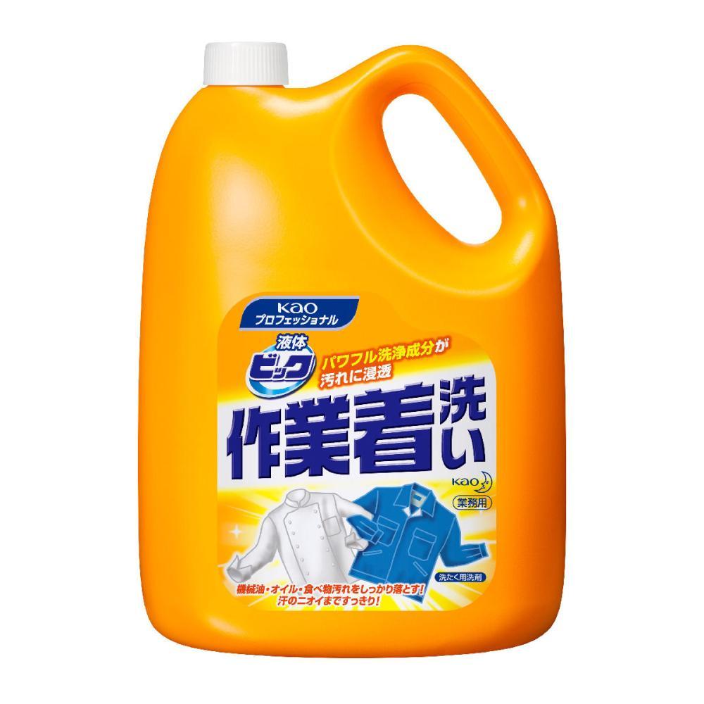 花王 液体ビック 作業着洗い 4.5kg