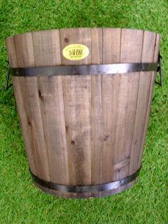 木製ダル深型32cmダークブラウン CH10