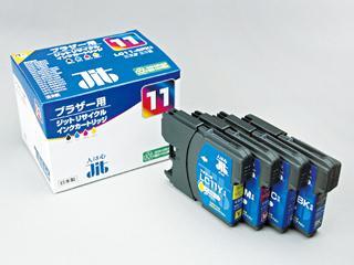 リサイクルインクカートリッジ JIT-B114P 4色(BK/C/M/Y)セット
