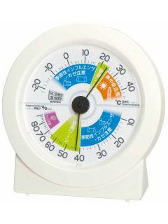 エンペックス 生活管理温湿度計 TM-2880 オフホワイト