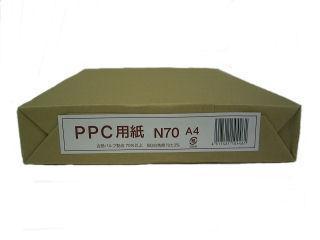 コピー用紙N70 PEFC A4 500枚入 再生紙70%