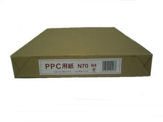 コピー用紙N70 PEFC B4 500枚入 再生紙70%